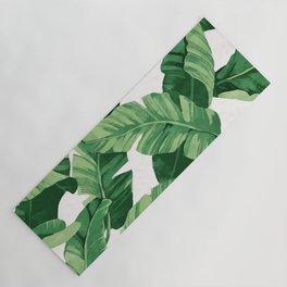 Tropical banana leaves IV Yoga Mat