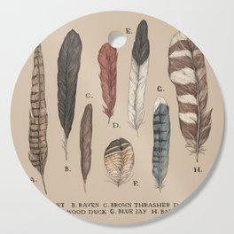 Feathers Cutting Board
