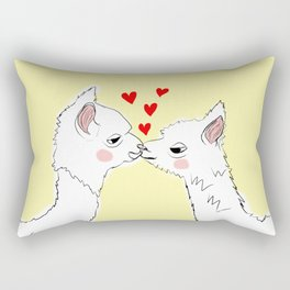 Llama Love Rectangular Pillow