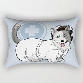 Nurse Betty Corgman Rectangular Pillow