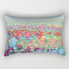 Highland Bluebonnets Rectangular Pillow