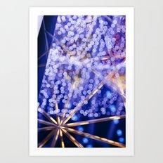 Tokyo Confetti  Art Print
