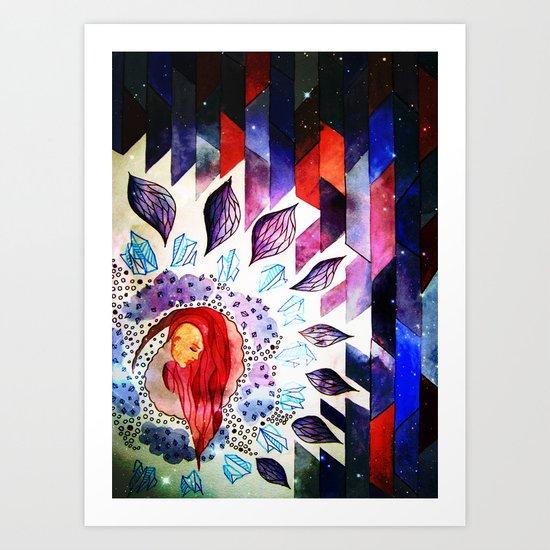 own world Art Print