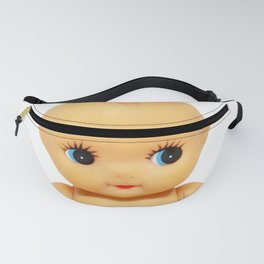Cute little naked baby doll. Fanny Pack