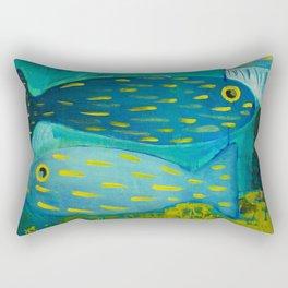 Round trip Rectangular Pillow