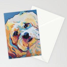 Maltipoo, Cavapoo, Cavachon, Cockerpoo, Mix Breed Custom Pop Art Pet Portrait Stationery Cards