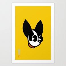 Dogbot Art Print