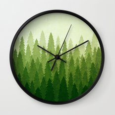 C1.3 Pine Gradient Wall Clock