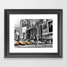 I love NY Framed Art Print