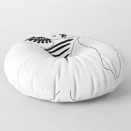 Bodhisattva Floor Pillow