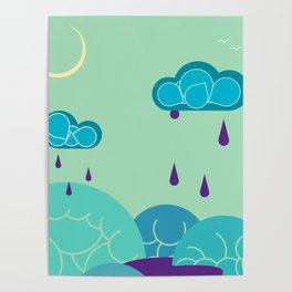 Nighttime Melodies Poster