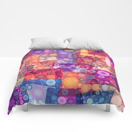 Harlequin Bubbles Comforters