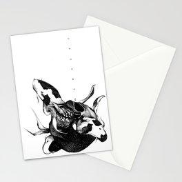 We three Koi Stationery Cards