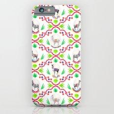 A Llama Folk Tale Slim Case iPhone 6s