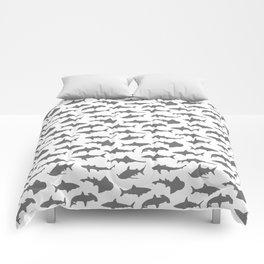 Grey Sharks Comforters