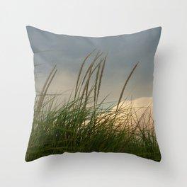 Windy // Nature Photography Throw Pillow