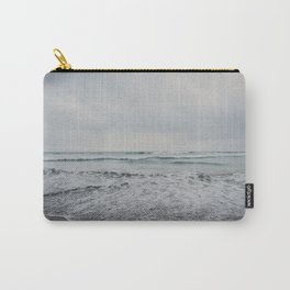 a stormy Pacific Ocean, Oceanside, California Carry-All Pouch