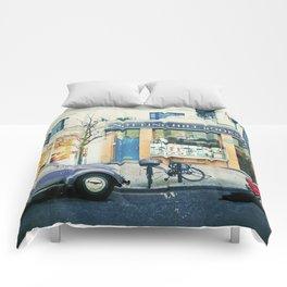 Notting Hill travel movie art Comforters