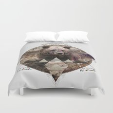 ANIMAL ECHOES Duvet Cover