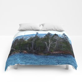 Blue Mountain River Comforters