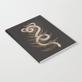 The Snake and Fern Notebook