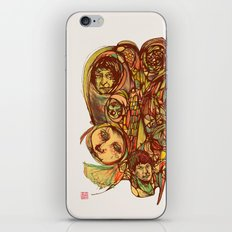Somebody's Family Portrait iPhone & iPod Skin