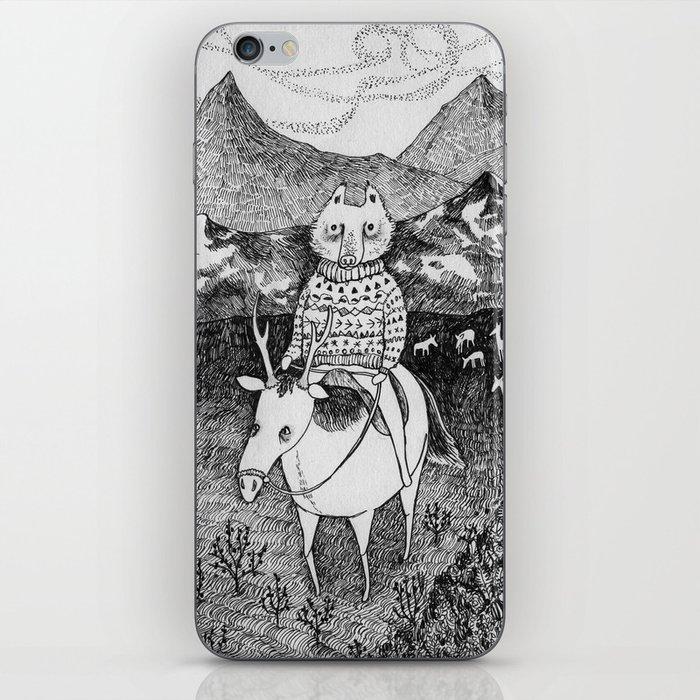 Sami Fox Iphone Skin By Ulrikakestere Society6