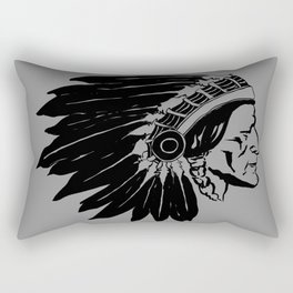 Chief Two Moons Rectangular Pillow