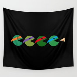 Pac-Turtles Wall Tapestry