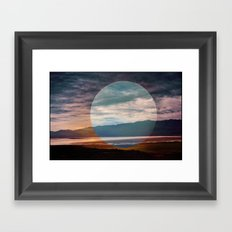 Sunset I Framed Art Print