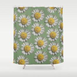 pastel daisy mania Shower Curtain