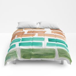21  | 190304 Watercolour Painting Abstract Pattern Comforters