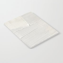 Relief [1]: an abstract, textured piece in white by Alyssa Hamilton Art Notebook