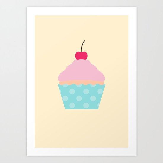 #95 Cupcake Art Print