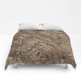 Camo Craze Twist Blur - Traditional Comforters
