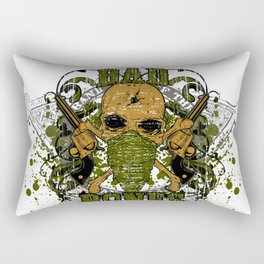 peacemaker falls asleep on the silver star Rectangular Pillow