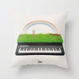 Natural Soul Throw Pillow
