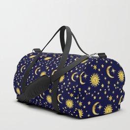 Sun, Moon & Stars Duffle Bag