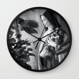The Little Flower - St. Therese of Lisieux Wall Clock