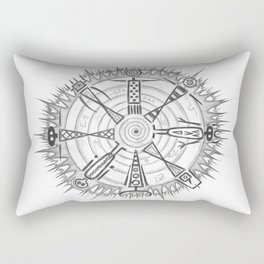 All Together Now Rectangular Pillow