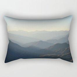 Mountains of California Rectangular Pillow