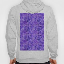 violet iris and butterfly Hoody