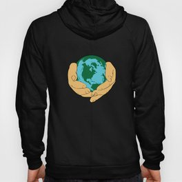 Happy Earth Day Every Day 2019 Graphic Design Men Women Youth Kids Hoody