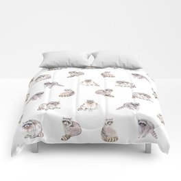 Fluffy Critters Comforters