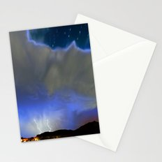On the Wings of the Night Stationery Cards