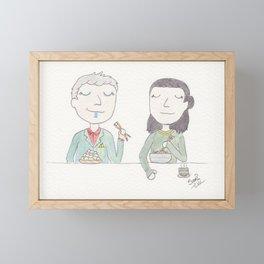 Tofu Framed Mini Art Print