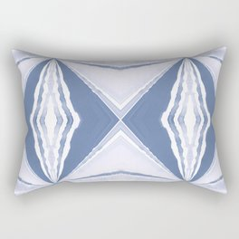 Blue Thursday Rectangular Pillow