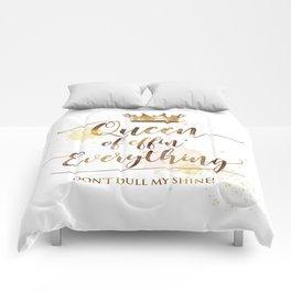Queen of effin' Everything Comforters
