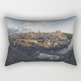 Toledo at sunset Rectangular Pillow