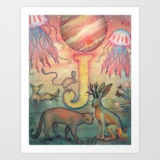 'J' is for... Art Print